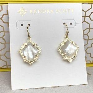 Kendra Scott Jewelry - New Kendra Scott Kyrie Gold Ivory Pearl